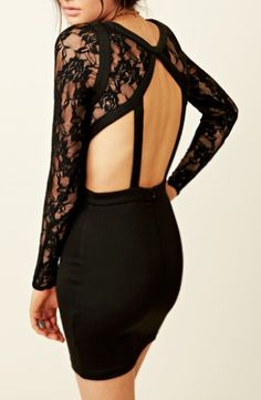 Lace cut out dress   # Pin++ for Pinterest #