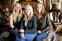 The Dream Team from Donna Decorates Dallas on HGTV Tiffany Moss Jenkins,Donna Moss & Ashley Moss Black