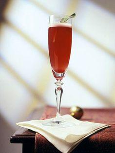 Cranberry-Champagne Sparkler