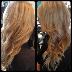 Beachy #blonde #hair!! Natural #highlights and lowlights.