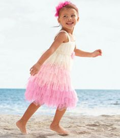 frothy tulle dress