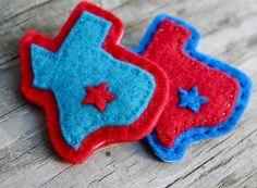 Texas Pride Holiday Brooch