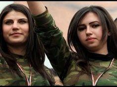 Kobani - Kurdistan Female Fighters - YPG - ROJAVA