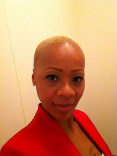 Bald beauty