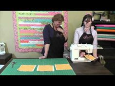 Great quilting tutorial from Missouri Star Quilting company!