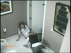 I love funny stuff...this has to be the funniest I've seen in a while. Ellen likes to scare her guests and she scares Taylor Swift to the floor.