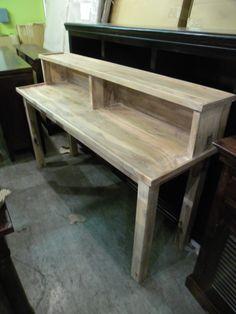 """Desk or a Unique TV Stand  HW6112 - $303  65""""W x 20""""D x 40""""H  #NadeauNashville"""