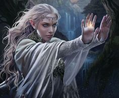 Galadriel by Magali Villeneuve on Twitter