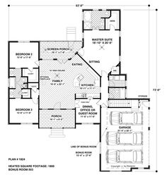 Free Small Ranch House Plans | House The Wellsley Cottage-S House Plan - Green Builder House Plans