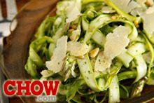 Talk CHOW: Shaved Asparagus Salad Recipe