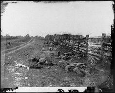 Battle of Antietam during the Civil War.
