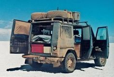 Travelling the world in a G-wagen