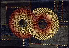"""""""Infinity I"""" by Nancy Ota. 2014 Palm Springs quilt show, photo by Simply Put Plus"""