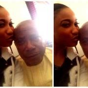 Photo of Tonto Dikeh and her dad, the No.1 man in her life. #Nollywood