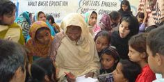'Literacy in Later Life - Pakistani Woman Shows the Way.' Blog by Zephaniah. Read more: http://www.asafeworldforwomen.org/about/safe-world-blogs/zephaniah/3806-adult-literacy.html