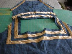 Mary Taran--La Strisciata Italian Gown Diary