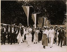 July 14, 2013 - On this date in 1917, sixteen suffragists from the National Woman's Party were arrested for picketing in front of the White House. They refused to pay $25 fines, so were sent to a workhouse for two days. Do we learn from history??
