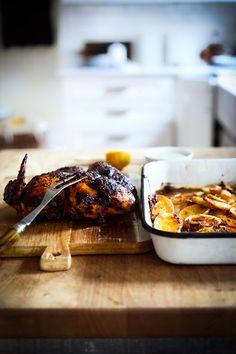 Portuguese Chicken + Potatoes
