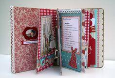 recip book, vintage recipes, craftsscrapbook cookbook, cookbook idea, art