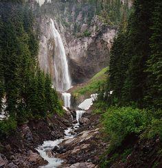 Comet Falls, Van Trump Creek, Pierce County, Washington