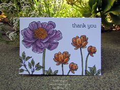 Blooming with Thanks by michvan3 - Cards and Paper Crafts at Splitcoaststampers Bloom With Hope Stampin Up! blendabilities