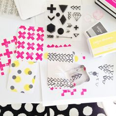 repeat stamping >>> make your own filler cards