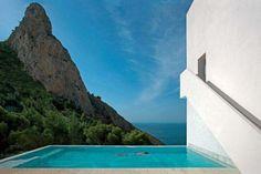 Cliffside Diving in Spain