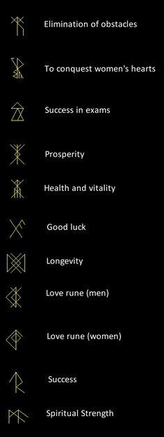 Runes as talismans #tatouage #ink #tattoo
