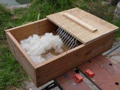 Building a wool picker...