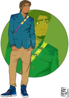 Eugene Fitzherbert - Tangled | 21 More Disney Characters As Modern College Students