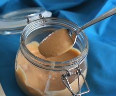 Low Carb Salted Caramel Sauce @Carolyn Ketchum