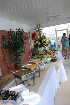 food tables