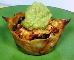 Weight Watchers - Taco Cupcakes
