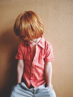 A red head child is completely impossible for me.