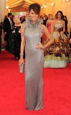 Chrissy Teigen in Ralph Lauren at the Met Gala 2014