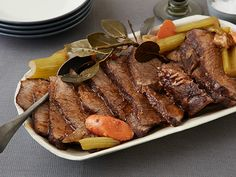 Slow Cooker Pot Roast Recipe : Food Network Kitchen : Food Network - FoodNetwork.com