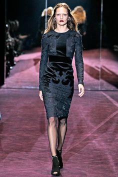 Gucci FW 2012 #runway