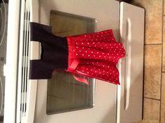 Little Dress kitchen towel. Make it yourself!