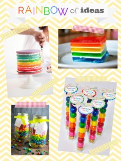 Rainbow of Ideas Inspiration Board from @Kari Jones Sweeten {U Create}