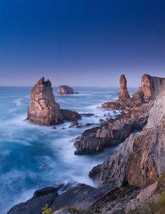 Foto de Arnaldo Gutiérrez. Costa Quebrada en #Cantabria #Costa #Coast #Spain #Travel