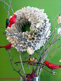 book wreath with chr