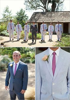 groomsmen in a different color?