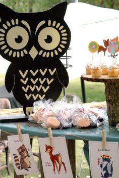 Woodland Party #woodland #party