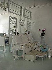 decor, idea, old windows, roomdivid, recycled windows, vintage windows, hous, design, room dividers