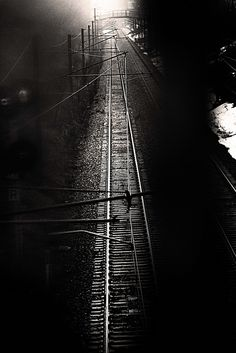 The train track of a past time. https://www.facebook.com/pages/Creative-Mind/319604758097900