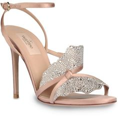 Valentino High-heeled sandal ($1,195) ❤ liked on Polyvore