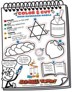 Rosh Hashanah Craft