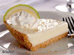 Sweet 'n' creamy with a graham cracker crust, this recipe for Joe's Key Lime Pie is your post-dinner guilty pleasure. joe stone, key lime, keys, food, lime pie, joe key, pie recipes, limes, dessert