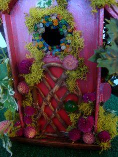 Christmas with holly hallmark movie fairy house fairy for Hallmark fairy door