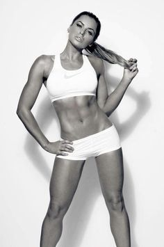 Her abs are perfect!